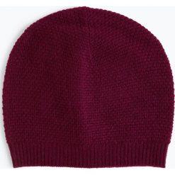 Marie Lund - Damska czapka z czystego kaszmiru, lila. Brązowe czapki damskie Marie Lund, z kaszmiru. Za 229,95 zł.