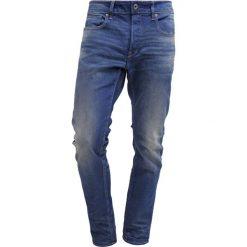 GStar 3301 SLIM Jeansy Slim Fit medium aged. Niebieskie jeansy męskie regular G-Star, z bawełny. Za 459,00 zł.