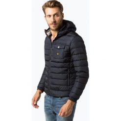 RefrigiWear - Męska kurtka puchowa, niebieski. Niebieskie kurtki męskie pikowane Refrigiwear, m, z puchu, eleganckie. Za 749,95 zł.