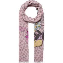 """Chusty damskie: Chusta """"Kissing Mickey and Minnie"""" w kolorze jasnoróżowym – 190 x 70 cm"""