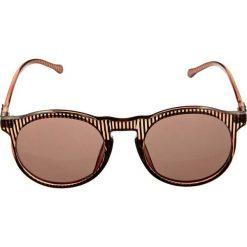 Okulary przeciwsłoneczne damskie aviatory: Le Specs BOJANGLES Okulary przeciwsłoneczne brown stripe