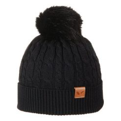 Czapka damska Iliana czarna (212/20/4859). Czarne czapki zimowe damskie marki Viking. Za 61,19 zł.