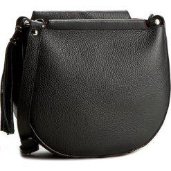 Torebka CREOLE - K10316 Czarny. Czarne listonoszki damskie marki Creole, ze skóry. W wyprzedaży za 189,00 zł.