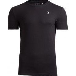 T-shirt męski TSM601 - czarny - Outhorn. Czarne t-shirty męskie Outhorn, na lato, m, z bawełny. W wyprzedaży za 29,99 zł.