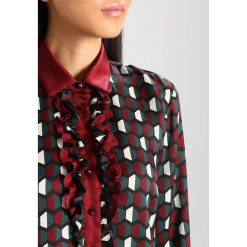 Sukienki hiszpanki: Sisley Sukienka koszulowa dark red