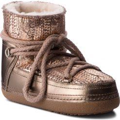 Buty INUIKII - Boot Galway 70101-10 Gold. Żółte buty zimowe damskie marki Kazar, ze skóry, na wysokim obcasie, na obcasie. Za 1549,00 zł.