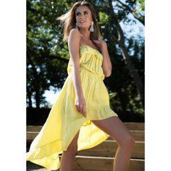 Sukienki: Żółta Sukienka Turn Up The Power