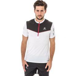 Salomon Koszulka męska Fast Wing Tee White r. XL (393831). Szare koszulki sportowe męskie marki Salomon, z gore-texu, na sznurówki, outdoorowe, gore-tex. Za 160,16 zł.