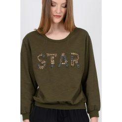Swetry damskie: Bluza