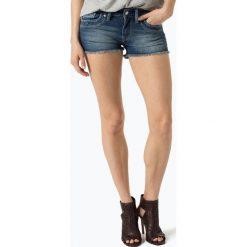 Pepe Jeans - Damskie krótkie spodenki jeansowe – Ripple, niebieski. Niebieskie szorty jeansowe damskie marki Pepe Jeans. Za 179,95 zł.