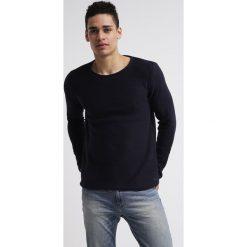 Swetry klasyczne męskie: Solid JARAH Sweter blue