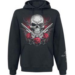Spiral Death Pistol Bluza z kapturem czarny. Czarne bejsbolówki męskie Spiral, s, z nadrukiem, z kapturem. Za 121,90 zł.