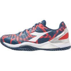 Diadora SPEED BLUSHIELD 2 AG Obuwie multicourt dark blue/red capital. Niebieskie buty do tenisa męskie Diadora, z gumy. Za 589,00 zł.