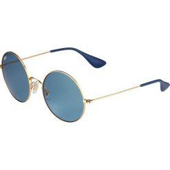 RayBan Okulary przeciwsłoneczne goldcoloured. Żółte okulary przeciwsłoneczne damskie lenonki Ray-Ban. Za 579,00 zł.