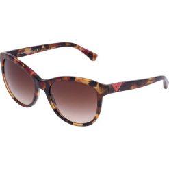 Okulary przeciwsłoneczne damskie aviatory: Emporio Armani Okulary przeciwsłoneczne pink/brown