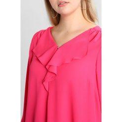 Bluzki asymetryczne: Evans FRILL FRONT  Bluzka pink