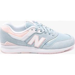 New Balance - Buty WL697PTU. Szare buty sportowe damskie marki New Balance, z materiału. W wyprzedaży za 359,90 zł.