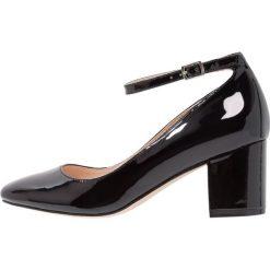 Buty ślubne damskie: Buffalo Czółenka black