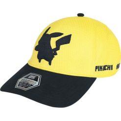 Pokemon Pikachu Czapka baseballowa żółty. Żółte czapki z daszkiem damskie POKEMON, z aplikacjami, z lycry. Za 42,90 zł.