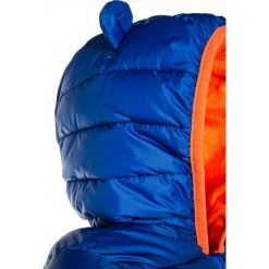 GAP Kurtka zimowa bristol blue. Niebieskie kurtki chłopięce przeciwdeszczowe GAP, na zimę, z materiału. W wyprzedaży za 183,20 zł.