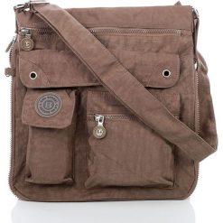 Męska Torba na ramię raportówka Bag Street  Brąz. Brązowe torby na ramię męskie marki Kazar, ze skóry, przez ramię, małe. Za 67,90 zł.