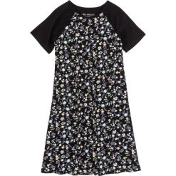 Bielizna nocna: Koszula nocna bonprix czarny z nadrukiem
