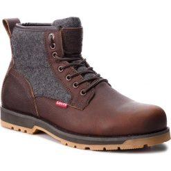 Kozaki LEVI'S - 226789-931-29 Dark Brown. Brązowe buty zimowe męskie Levi's®, z materiału. W wyprzedaży za 319,00 zł.
