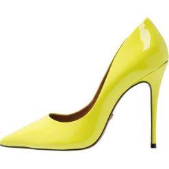 L'INTERVALLE TEEVA Szpilki neon yellow. Żółte szpilki L'INTERVALLE, z materiału. Za 419,00 zł.