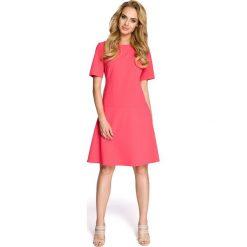 FAITH Sukienka - różowa. Czerwone sukienki mini Moe, z krótkim rękawem. Za 139,00 zł.