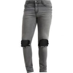 Liquor N Poker RIP KNEE Jeans Skinny Fit grey. Niebieskie rurki męskie marki Tiffosi. Za 239,00 zł.