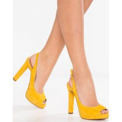 Szpilki: MAI PIÙ SENZA Szpilki Peep Toe yellow