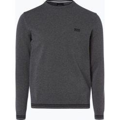 Swetry klasyczne męskie: BOSS Athleisure – Sweter męski – Rime_S18, zielony
