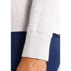 Swetry klasyczne damskie: Abercrombie & Fitch RUFFLE Sweter grey
