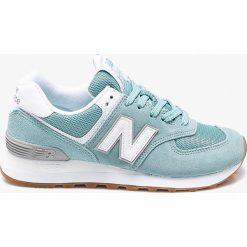 New Balance - Buty WL574ESY. Szare buty sportowe damskie marki New Balance, z gumy. W wyprzedaży za 299,90 zł.