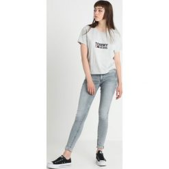 GStar 3301 DECONSTRUCTED MID SKINNY Jeans Skinny Fit lt aged. Szare jeansy damskie relaxed fit marki G-Star. Za 559,00 zł.