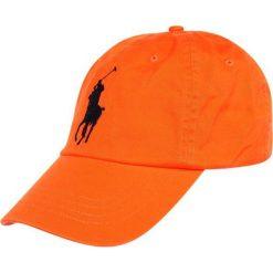 Czapki męskie: Polo Ralph Lauren Czapka z daszkiem orange peel