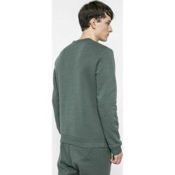 Reebok - Bluza. Szare bluzy męskie rozpinane Reebok, m, z nadrukiem, z bawełny, z kapturem. W wyprzedaży za 149,90 zł.