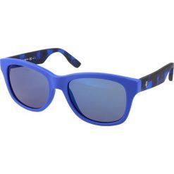 """Okulary przeciwsłoneczne damskie aviatory: Okulary przeciwsłoneczne """"0002/S RID/XT"""" w kolorze niebieskim"""