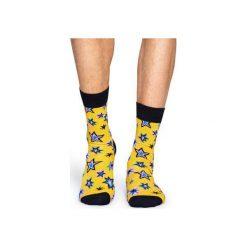 Skarpetki Happy Socks  BNG01-2000. Szare skarpetki męskie Happy Socks, z bawełny. Za 24,43 zł.