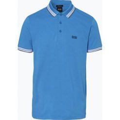 BOSS Athleisurewear - Męska koszulka polo – Paddy, niebieski. Niebieskie koszulki polo BOSS Athleisurewear, l, w paski. Za 349,95 zł.