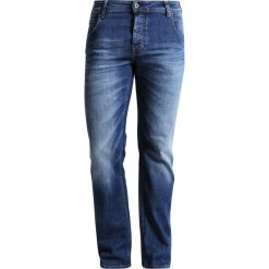 Jeansy męskie regular: Mustang MICHIGAN STRAIGHT Jeansy Straight Leg light scratched used