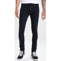 Jeansy męskie regular: Whyred LOU Jeans Skinny Fit heavy stone blue black