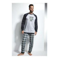 Piżama New York 197/103. Niebieskie piżamy męskie marki Cornette. Za 164,90 zł.
