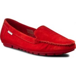 Mokasyny damskie: Mokasyny NESSI - 17130  Czerwony 192