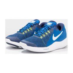 Nike Performance LUNAR APPARENT Obuwie do biegania treningowe blue jay/white/binary blue/italy blue. Niebieskie buty do biegania damskie Nike Performance, z materiału. Za 259,00 zł.