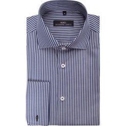 Koszula RICCARDO 15-05-17. Szare koszule męskie na spinki marki S.Oliver, l, z bawełny, z włoskim kołnierzykiem, z długim rękawem. Za 149,00 zł.