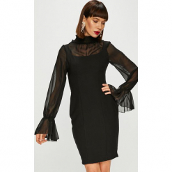 Trendyol - Sukienka. Szare długie sukienki marki Trendyol, na co dzień, z elastanu, casualowe, dopasowane. Za 139,90 zł.