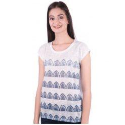 Mustang T-Shirt Damski S Biały. Białe t-shirty damskie Mustang, s. W wyprzedaży za 79,00 zł.