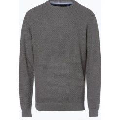 Nils Sundström - Sweter męski, szary. Szare swetry klasyczne męskie Nils Sundström, l, z bawełny. Za 179,95 zł.