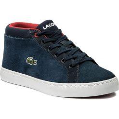 Trampki chłopięce: Sneakersy LACOSTE - Straightset Chukka 317 2 Caj 7-34CAJ0016003 Nvy